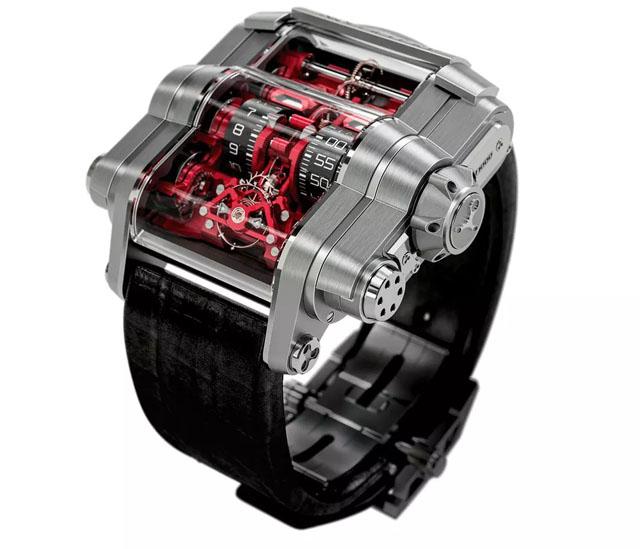 Amazing High Tech Swiss Wrist Watches