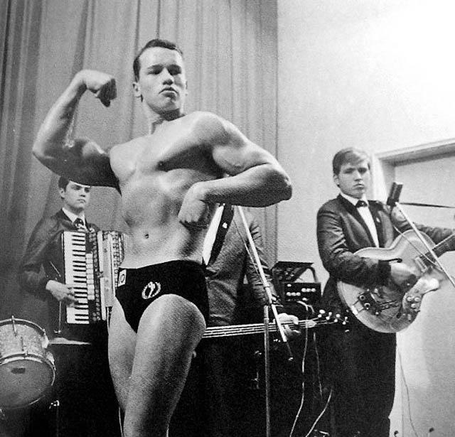 Very Rare Historical Photos Arnold Schwarzenegger
